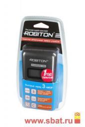 З/у Robiton R03/R6x1/4 (1000mA) мпроц./откл., SmartDisplay 1000
