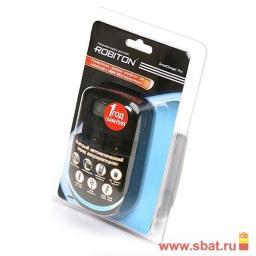 З/у Robiton дляLi-Ion14500/18500/18650/16340(123А),R03/R6/6F22, (900mA)+USB, SmartChargerPro