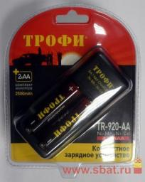 З/у Трофи R03/R6x1/2 (160mA) (акк.2R6x2500mAh), TR-920