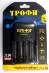 З/у Трофи R03x1/2, R6x1/4 (250mA) мпроц/откл TR-120