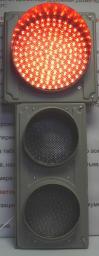 Светофор светодиодный транспортный (Д=300/200/200 мм)