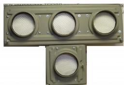 Светофор светодиодный трамвайный (Д= 100 мм)