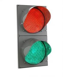 Светофор светодиодный двухсекционный (Д=200/200 мм)