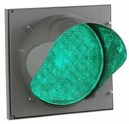 Модуль светодиодный для транспортного светофора (Д=200 мм) зелёный