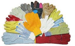 Перчатки рабочие, краги и рукавицы в ассортименте.