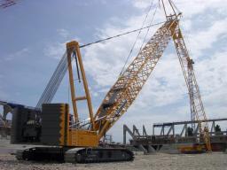 Аренда гусеничного крана LIEBHERR LR 1400 г/п 400 тонн