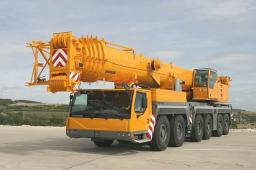 Аренда автокрана LIEBHERR LTM 1250 г/п 250 тонн