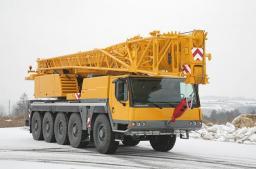 Аренда автокрана LIEBHERR LTM 1160 г/п 160 тонн