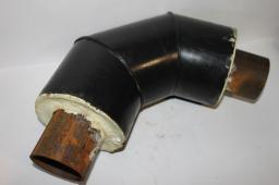 Труба ППУ ПЭ бесшовная труба сталь 09Г2С д= 57х3,5/125 мм