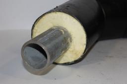 Труба ППУ ПЭ бесшовная труба сталь 09Г2С д=273х8,0/450 мм