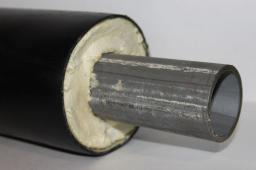 Труба ППУ ПЭ бесшовная труба сталь 09Г2С д=108х4,0/180 мм