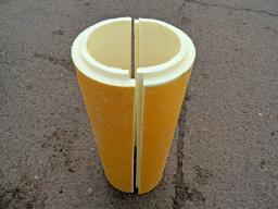 Скорлупа ППУ 325 толщина 60 мм