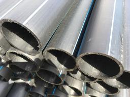 Труба водопроводная напорная из полиэтилена ПЭ 100 SDR17 PN 10,0 125х7,4мм