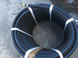Труба водопроводная напорная из полиэтилена ПЭ 100 SDR11 PN 16,0 90х8,2мм