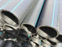 Труба водопроводная напорная из полиэтилена ПЭ 100 SDR26 PN 6,3 140х5,4мм