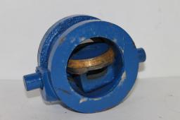 Клапан обратный поворотный 19ч21бр Ду 100