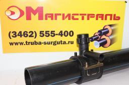 Седловой отвод электросварной ПЭ100 Седелка 160/063 мм