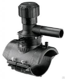 Седловой отвод электросварной ПЭ100 Седелка 110/063 мм