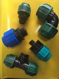 Отвод компрессионный внутренняя резьба 40x1