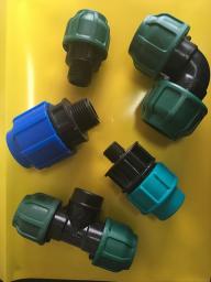 Отвод компрессионный наружная резьба 32x1