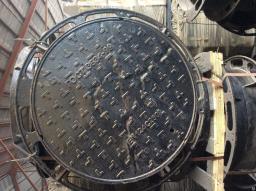 Люк ВЧШГ Тип «Т» с 3-мя замками с резиновой прокладкой