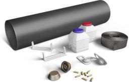 Комплект заделки стыка трубопровода +с термоусаживаемой муфтой