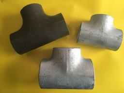 Тройник стальной 76х3.5-57х3 оц