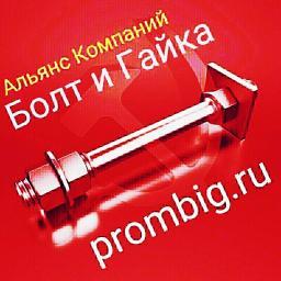 Фундаментный болт с анкерной плитой тип 2.1 м30х1500 сталь 3сп2 ГОСТ 24379.1-2012