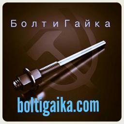 Фундаментный болт прямой тип 5 м24х600 сталь 3сп2 ГОСТ 24379.1-2012