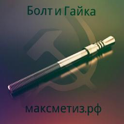 Фундаментный болт с коническим концом тип 6.1 м48х1320 сталь 3сп2 ГОСТ 24379.1-2012