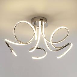 Потолочный светодиодный светильник Eurosvet Supreme 90068/5 хром