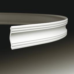 СКИДКИ! 72мм*75*2000мм Полиуретановый карниз гибкий Европласт 1.50.102 flex