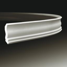 СКИДКИ! 60мм*63*2000мм Полиуретановый карниз гибкий Европласт 1.50.105 flex