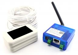 Проводной счетчик посетителей с передачей через WiFi. Комплект MC-WiFi-W: Проводной счетчик, Сенсоры MCount, Ethernet WiFi модем, блок питания, провода, кронштейны, ПО. Белый. ЦЕНА СНИЖЕНА. Звоните прямо сейчас (383)248-04-04, 8-913-715-88