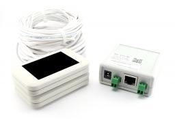 Проводной счетчик посетителей с передачей через Enternet. Комплект MC-ETH-W: Проводной счетчик, Сенсоры MCount, Ethernet модем, блок питания, провода, кронштейны, ПО. Белый. ЦЕНА СНИЖЕНА. Звоните прямо сейчас (383)248-04-04, 8-913-715-88-3