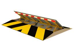 Дорожный блокиратор (Противотаранное устройство) AR-GO ДБ. Электромеханический, Врезной. Ширина 2500 - 6000 мм. ЦЕНА СНИЖЕНА. Звоните прямо сейчас (383)248-04-04, 8-913-715-88-32.