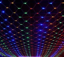 Светодиодная LED гирлянда Сетка 2x2м.