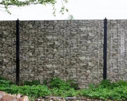 Забор имитация камень
