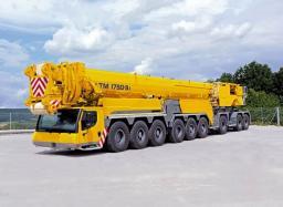 Аренда автокрана LIEBHERR LTM 1750 г/п 750 тонн