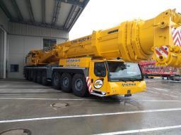 Аренда автокрана LIEBHERR LTM 1500 г/п 500 тонн