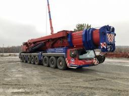 Аренда автокрана 500 тонн