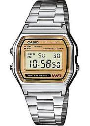 Японские наручные  мужские часы Casio A-158WEA-9E. Коллекция Digital