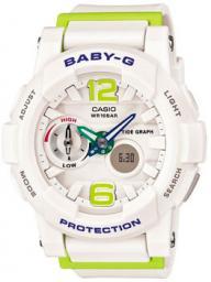 Японские наручные  женские часы Casio BGA-180-7B2. Коллекция Baby-G