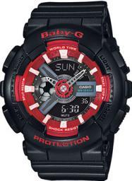 Японские наручные  женские часы Casio BA-110SN-1A. Коллекция Baby-G