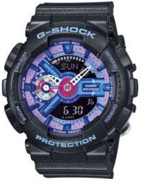 Японские наручные  мужские часы Casio GMA-S110HC-1A. Коллекция G-Shock