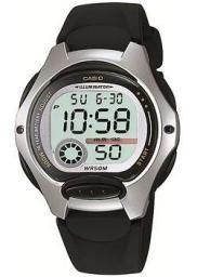 Японские наручные  женские часы Casio LW-200-1A. Коллекция Digital