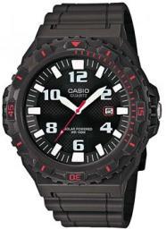 Японские наручные  мужские часы Casio MRW-S300H-8B. Коллекция Analog