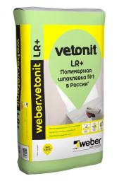 шпаклевка финишная Ветонит лр+ 25 кг Vetonit LR+