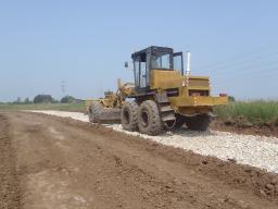 Отсыпка и планировка дорог, комплексные работы. Асфальтирование