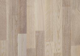 Паркетная доска Polarwood Oak Tundra white matt loc 3s